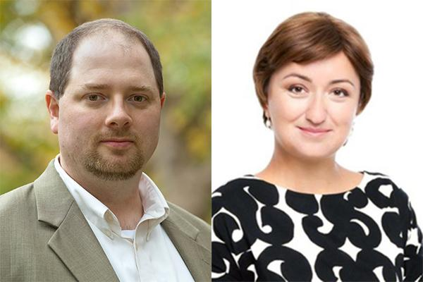 Erik Nisbet and Olga Kamenchuk