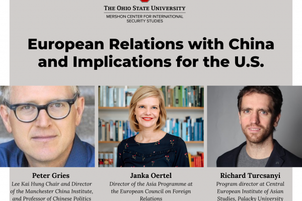 European Relations with China and Implications for the U.S. event photo